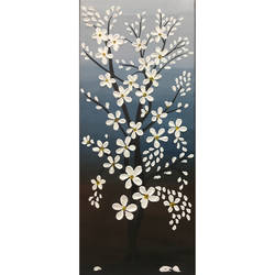 floral art, 6 x 18 inch, nisha agarwal,6x18inch,canvas,paintings,flower paintings,modern art paintings,conceptual paintings,nature paintings   scenery paintings,art deco paintings,paintings for dining room,paintings for living room,paintings for bedroom,paintings for office,paintings for bathroom,paintings for kids room,paintings for hotel,paintings for kitchen,paintings for school,paintings for hospital,acrylic color,GAL0203743821