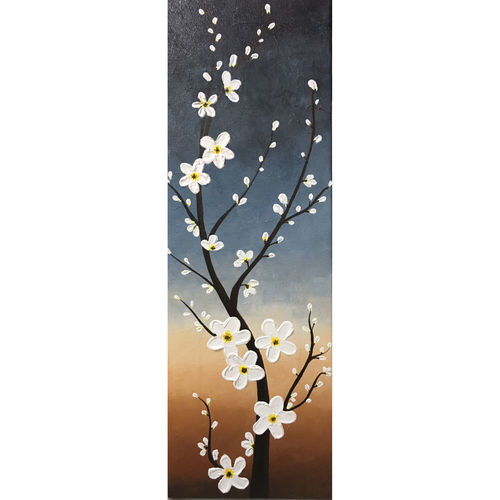 floral art, 6 x 18 inch, nisha agarwal,6x18inch,canvas,paintings,flower paintings,nature paintings | scenery paintings,art deco paintings,paintings for dining room,paintings for living room,paintings for bedroom,paintings for office,paintings for bathroom,paintings for kids room,paintings for hotel,paintings for kitchen,paintings for school,paintings for hospital,acrylic color,GAL0203743822