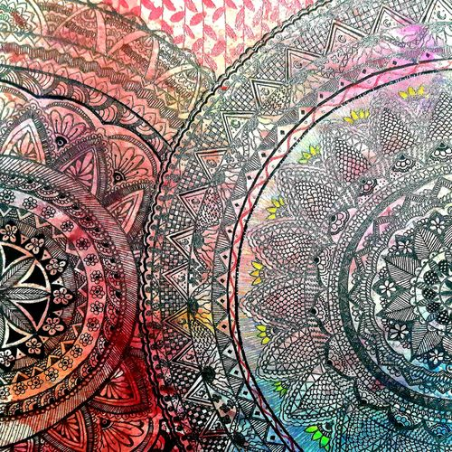 mandala art , 11 x 14 inch, priya  chhillar ,11x14inch,cartridge paper,paintings,modern art paintings,paintings for dining room,paintings for living room,paintings for bedroom,paintings for office,paintings for hotel,paintings for kitchen,pen color,poster color,ball point pen,GAL03135643909