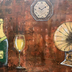 celebrating life, 36 x 24 inch, dr ritika malhotra,36x24inch,canvas board,paintings,conceptual paintings,art deco paintings,love paintings,paintings for dining room,paintings for living room,paintings for office,paintings for hotel,paintings for dining room,paintings for living room,paintings for office,paintings for hotel,acrylic color,GAL03136443957