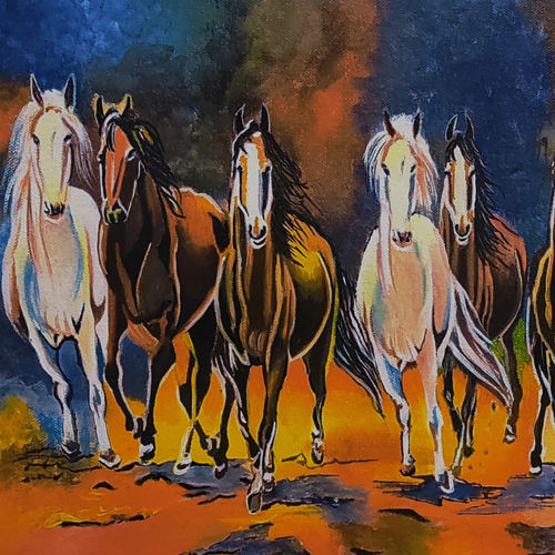 seven horses - vastu painting, 40 x 28 inch, akash bhisikar,40x28inch,canvas,abstract paintings,wildlife paintings,modern art paintings,multi piece paintings,conceptual paintings,religious paintings,still life paintings,portrait paintings,nature paintings | scenery paintings,art deco paintings,portraiture,contemporary paintings,realistic paintings,love paintings,horse paintings,dog painting,elephant paintings,water fountain paintings,baby paintings,children paintings,kids paintings,paintings for dining room,paintings for living room,paintings for bedroom,paintings for office,paintings for bathroom,paintings for kids room,paintings for hotel,paintings for kitchen,paintings for school,paintings for hospital,paintings for dining room,paintings for living room,paintings for bedroom,paintings for office,paintings for bathroom,paintings for kids room,paintings for hotel,paintings for kitchen,paintings for school,paintings for hospital,acrylic color,GAL01828643962