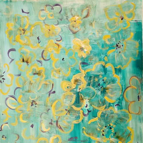 floralscape 3, 16 x 20 inch, suchitra lata,16x20inch,oil sheet,paintings,abstract paintings,flower paintings,modern art paintings,still life paintings,abstract expressionism paintings,paintings for dining room,paintings for living room,paintings for bedroom,paintings for office,paintings for hotel,paintings for hospital,acrylic color,GAL03140343998