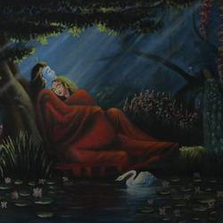 radha krishna, 24 x 18 inch, biswajit singha,24x18inch,canvas,paintings,religious paintings,oil color,GAL03147444028