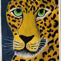 cheetah , 12 x 16 inch, aishwarya br,12x16inch,canvas,paintings,wildlife paintings,animal paintings,paintings for living room,paintings for bedroom,acrylic color,GAL02103244052