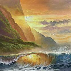 heaven scenery, 24 x 24 inch, artoholic p,24x24inch,canvas,paintings,landscape paintings,nature paintings | scenery paintings,water fountain paintings,paintings for dining room,paintings for living room,paintings for bedroom,paintings for office,paintings for bathroom,paintings for kids room,paintings for hotel,paintings for kitchen,paintings for school,paintings for hospital,acrylic color,GAL02078844062