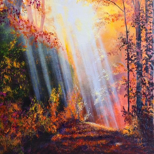 beautiful nature, 24 x 18 inch, akrosh saxena,24x18inch,canvas,paintings,landscape paintings,acrylic color,GAL03151244090