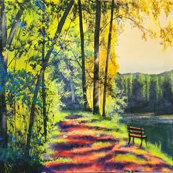 beautiful nature, 24 x 18 inch, akrosh saxena,24x18inch,canvas,paintings,landscape paintings,acrylic color,GAL03151244093