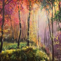 beautiful nature, 24 x 18 inch, akrosh saxena,24x18inch,canvas,paintings,landscape paintings,acrylic color,GAL03151244094