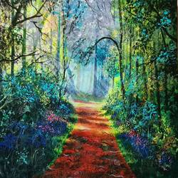 beautiful nature, 24 x 18 inch, akrosh saxena,24x18inch,canvas,paintings,landscape paintings,acrylic color,GAL03151244096