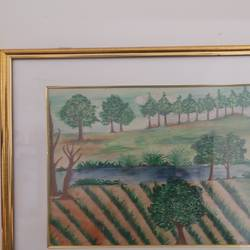 farm side , 10 x 12 inch, aditi trehan,10x12inch,drawing paper,paintings,landscape paintings,poster color,watercolor,GAL03151144105