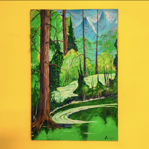 love of nature , 31 x 20 inch, prakhar  gupta ,31x20inch,canvas,wildlife paintings,landscape paintings,nature paintings | scenery paintings,paintings for dining room,paintings for living room,paintings for bedroom,paintings for office,paintings for kids room,paintings for hotel,paintings for school,paintings for dining room,paintings for living room,paintings for bedroom,paintings for office,paintings for kids room,paintings for hotel,paintings for school,fabric,GAL03151644112