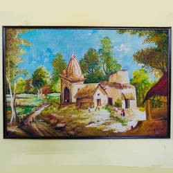 village scene , 36 x 24 inch, prakhar  gupta ,36x24inch,canvas,abstract paintings,landscape paintings,religious paintings,photorealism,street art,paintings for dining room,paintings for living room,paintings for bedroom,paintings for office,paintings for kids room,paintings for hotel,paintings for dining room,paintings for living room,paintings for bedroom,paintings for office,paintings for kids room,paintings for hotel,acrylic color,ceramic,fabric,GAL03151644120