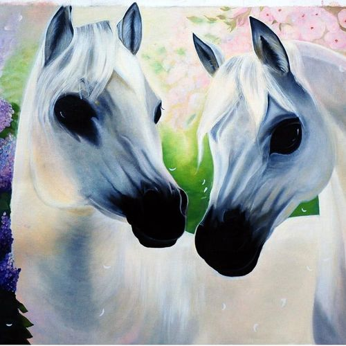 white horses , 34 x 19 inch, anamika rana,34x19inch,canvas,wildlife paintings,illustration paintings,animal paintings,horse paintings,baby paintings,kids paintings,paintings for dining room,paintings for living room,paintings for office,paintings for bathroom,paintings for kids room,paintings for hotel,paintings for school,paintings for hospital,paintings for dining room,paintings for living room,paintings for office,paintings for bathroom,paintings for kids room,paintings for hotel,paintings for school,paintings for hospital,oil color,GAL02955744151