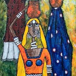 indian contemporary art, 12 x 36 inch, nidhi gupta,12x36inch,canvas,paintings,contemporary paintings,paintings for dining room,paintings for living room,paintings for bedroom,paintings for office,paintings for bathroom,paintings for kids room,paintings for hotel,paintings for kitchen,paintings for school,paintings for hospital,mixed media,GAL02487944160