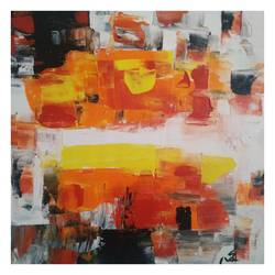 light and thoughts, 12 x 12 inch, mahesh  giri,12x12inch,canvas,paintings,abstract paintings,modern art paintings,abstract expressionism paintings,expressionism paintings,paintings for dining room,paintings for bedroom,paintings for office,acrylic color,GAL03154244172