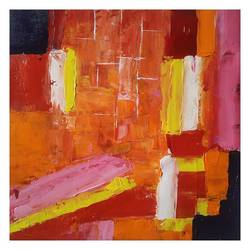 reconstructing a city, 12 x 12 inch, mahesh  giri,12x12inch,canvas,paintings,abstract paintings,cityscape paintings,modern art paintings,abstract expressionism paintings,expressionism paintings,paintings for living room,paintings for office,paintings for bathroom,acrylic color,GAL03154244213