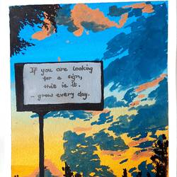 sunset with a billboard , 6 x 8 inch, swati agarwal,6x8inch,canson paper,paintings,cityscape paintings,landscape paintings,modern art paintings,paintings for dining room,paintings for living room,paintings for bedroom,paintings for hotel,paintings for kitchen,paintings for dining room,paintings for living room,paintings for bedroom,paintings for hotel,paintings for kitchen,poster color,GAL03159144229