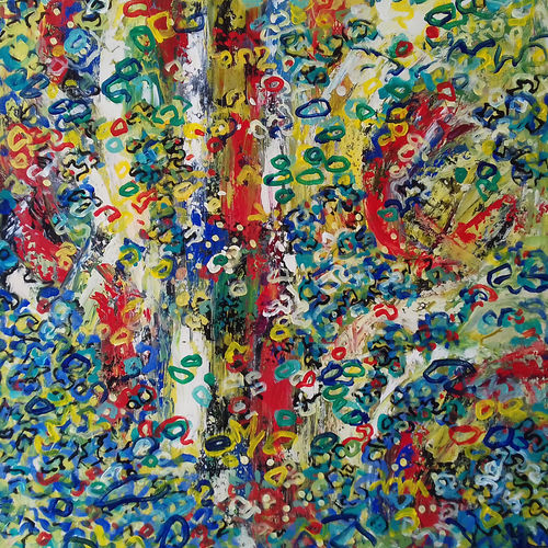nature, 24 x 24 inch, prasanta acharjee,24x24inch,canvas,paintings,abstract paintings,flower paintings,landscape paintings,nature paintings | scenery paintings,abstract expressionism paintings,expressionism paintings,impressionist paintings,pop art paintings,paintings for dining room,paintings for living room,paintings for bedroom,paintings for office,paintings for kids room,paintings for hotel,paintings for kitchen,paintings for school,paintings for hospital,acrylic color,GAL0360544255