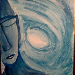 vastness, 8 x 11 inch, nandita basu,8x11inch,fabriano sheet,paintings,figurative paintings,paintings for dining room,paintings for living room,paintings for bedroom,paintings for office,paintings for hospital,acrylic color,watercolor,paper,GAL01781144259