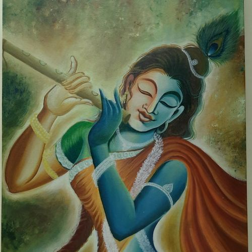 unconditional love, 23 x 43 inch, heema patel ,23x43inch,canvas,paintings,figurative paintings,religious paintings,radha krishna paintings,love paintings,paintings for dining room,paintings for living room,paintings for bedroom,paintings for office,paintings for hotel,paintings for hospital,paintings for dining room,paintings for living room,paintings for bedroom,paintings for office,paintings for hotel,paintings for hospital,acrylic color,GAL02493144326