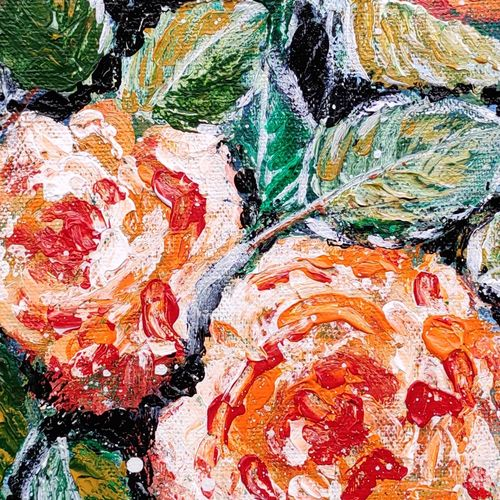 floral, 10 x 12 inch, ananya biswas,10x12inch,canvas board,flower paintings,acrylic color,GAL02298844408