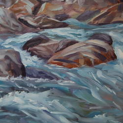 parvati river at kheerganga trek, 24 x 24 inch, kunal pal,24x24inch,canvas,paintings,abstract paintings,landscape paintings,nature paintings | scenery paintings,abstract expressionism paintings,expressionism paintings,contemporary paintings,water fountain paintings,paintings for dining room,paintings for living room,paintings for bedroom,paintings for office,paintings for bathroom,paintings for kids room,paintings for hotel,paintings for kitchen,paintings for school,paintings for hospital,oil color,GAL0905444412