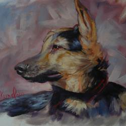 a lonely dog, 18 x 12 inch, kunal pal,18x12inch,canvas,paintings,wildlife paintings,expressionism paintings,impressionist paintings,photorealism paintings,photorealism,portraiture,realism paintings,animal paintings,contemporary paintings,realistic paintings,love paintings,dog painting,paintings for dining room,paintings for living room,paintings for bedroom,paintings for office,paintings for bathroom,paintings for kids room,paintings for hotel,paintings for kitchen,paintings for school,paintings for hospital,oil color,GAL0905444419