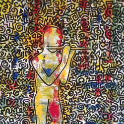 doodle 1, 21 x 27 inch, prasanta acharjee,21x27inch,canvas,paintings,figurative paintings,modern art paintings,conceptual paintings,pop art paintings,radha krishna paintings,contemporary paintings,paintings for dining room,paintings for living room,paintings for bedroom,paintings for office,paintings for bathroom,paintings for kids room,paintings for hotel,paintings for kitchen,paintings for school,paintings for hospital,acrylic color,GAL0360544420