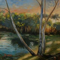 lakeside at bhopal, 24 x 24 inch, kunal pal,24x24inch,canvas,paintings,wildlife paintings,landscape paintings,nature paintings | scenery paintings,expressionism paintings,impressionist paintings,photorealism paintings,photorealism,realism paintings,realistic paintings,paintings for dining room,paintings for living room,paintings for bedroom,paintings for office,paintings for bathroom,paintings for kids room,paintings for hotel,paintings for kitchen,paintings for school,paintings for hospital,oil color,GAL0905444463