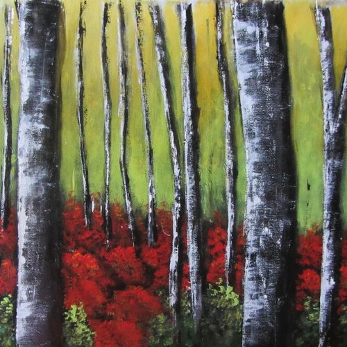 red forest, 29 x 20 inch, solina kumar,29x20inch,canvas,paintings,abstract paintings,landscape paintings,modern art paintings,nature paintings   scenery paintings,art deco paintings,paintings for dining room,paintings for living room,paintings for bedroom,paintings for office,paintings for kids room,paintings for hotel,paintings for school,paintings for hospital,acrylic color,GAL0465144467