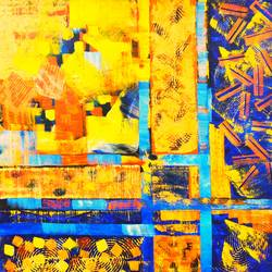 sizzle, 36 x 36 inch, rakesh dogra,36x36inch,canvas,paintings,abstract paintings,paintings for dining room,paintings for living room,paintings for bedroom,paintings for office,paintings for kids room,paintings for hotel,paintings for kitchen,paintings for school,paintings for hospital,acrylic color,GAL0896844481