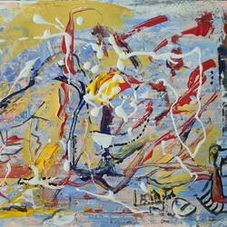 understanding, 11 x 8 inch, suchitra lata,11x8inch,brustro watercolor paper,paintings,abstract paintings,modern art paintings,abstract expressionism paintings,expressionism paintings,contemporary paintings,paintings for dining room,paintings for living room,paintings for bedroom,acrylic color,GAL03140344499