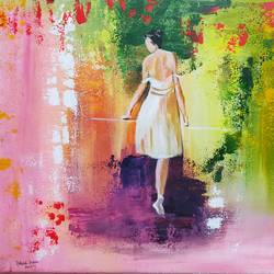 longing, 22 x 18 inch, rakesh dogra,22x18inch,canvas,paintings,abstract paintings,paintings for dining room,paintings for living room,paintings for bedroom,paintings for office,paintings for bathroom,paintings for kids room,paintings for hotel,paintings for kitchen,paintings for school,paintings for hospital,acrylic color,GAL0896844535