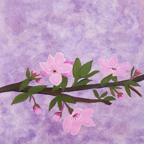 pink blossoms , 8 x 11 inch, vanitha raj k c,8x11inch,thick paper,paintings,flower paintings,realistic paintings,paintings for dining room,paintings for living room,paintings for bedroom,paintings for office,paintings for bathroom,paintings for kids room,paintings for hotel,paintings for kitchen,paintings for school,paintings for hospital,paintings for dining room,paintings for living room,paintings for bedroom,paintings for office,paintings for bathroom,paintings for kids room,paintings for hotel,paintings for kitchen,paintings for school,paintings for hospital,acrylic color,paper,GAL03168844572