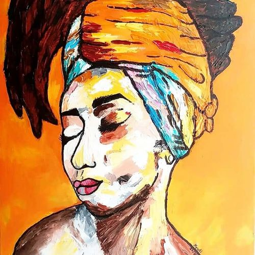 consumed, 18 x 24 inch, kruti haria,18x24inch,canvas,paintings,figurative paintings,modern art paintings,art deco paintings,paintings for living room,paintings for bedroom,paintings for office,paintings for hotel,oil color,GAL03194144696