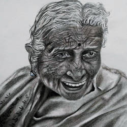 old faces of india, 10 x 10 inch, raya naskar,10x10inch,drawing paper,drawings,portrait drawings,charcoal,GAL03194444698