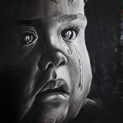 a baby crying, 9 x 12 inch, mohit bhardwaj,9x12inch,ivory sheet,paintings for dining room,paintings for living room,paintings for bedroom,paintings for office,paintings for kids room,paintings for hotel,paintings for school,paintings for hospital,photorealism drawings,portrait drawings,realism drawings,paintings for dining room,paintings for living room,paintings for bedroom,paintings for office,paintings for kids room,paintings for hotel,paintings for school,paintings for hospital,charcoal,GAL03193144749