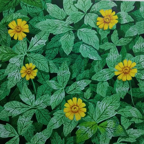 bloom, 12 x 17 inch, girish pathak,12x17inch,canson paper,flower paintings,nature paintings | scenery paintings,photorealism paintings,realistic paintings,paintings for dining room,paintings for living room,paintings for hospital,paintings for dining room,paintings for living room,paintings for hospital,watercolor,GAL02835244882