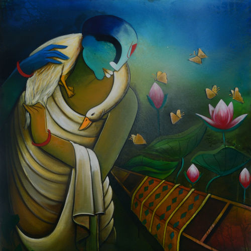 compassionate listeners, 36 x 42 inch, anupam  pal,36x42inch,canvas,paintings,abstract paintings,buddha paintings,wildlife paintings,figurative paintings,folk art paintings,cityscape paintings,modern art paintings,conceptual paintings,portrait paintings,tanjore paintings,art deco paintings,cubism paintings,dada paintings,expressionism paintings,illustration paintings,impressionist paintings,minimalist paintings,photorealism paintings,photorealism,pop art paintings,portraiture,realism paintings,street art,surrealism paintings,ganesha paintings | lord ganesh paintings,animal paintings,radha krishna paintings,contemporary paintings,realistic paintings,love paintings,horse paintings,mother teresa paintings,dog painting,elephant paintings,water fountain paintings,baby paintings,children paintings,kids paintings,islamic calligraphy paintings,madhubani paintings | madhubani art,warli paintings,lord shiva paintings,paintings for dining room,paintings for living room,paintings for bedroom,paintings for office,paintings for bathroom,paintings for kids room,paintings for hotel,paintings for kitchen,paintings for school,paintings for hospital,acrylic color,GAL08244887