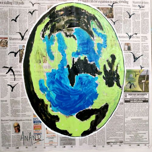 colorful world--3, 28 x 22 inch, anand manchiraju,28x22inch,canvas,paintings,abstract paintings,modern art paintings,paintings for dining room,paintings for living room,paintings for office,paintings for hotel,paintings for dining room,paintings for living room,paintings for office,paintings for hotel,acrylic color,GAL01254044930