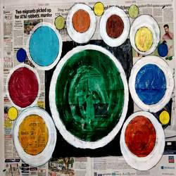 colorful world-1, 28 x 22 inch, anand manchiraju,28x22inch,canvas,paintings,abstract paintings,modern art paintings,paintings for dining room,paintings for living room,paintings for office,paintings for kids room,paintings for hotel,paintings for school,acrylic color,GAL01254044932
