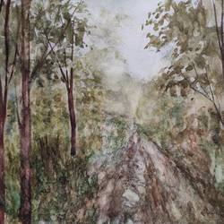landscape, 16 x 12 inch, ram mohan e,16x12inch,brustro watercolor paper,paintings,landscape paintings,nature paintings | scenery paintings,impressionist paintings,paintings for dining room,paintings for living room,paintings for bedroom,paintings for office,paintings for kids room,paintings for hotel,paintings for school,watercolor,GAL069744981