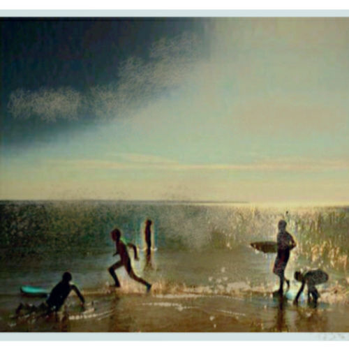 at sea, 12 x 12 inch, dr.ravi joseph ,12x12inch,canvas board,paintings,impressionist paintings,realism paintings,paintings for living room,mixed media,photo ink,GAL03215444986