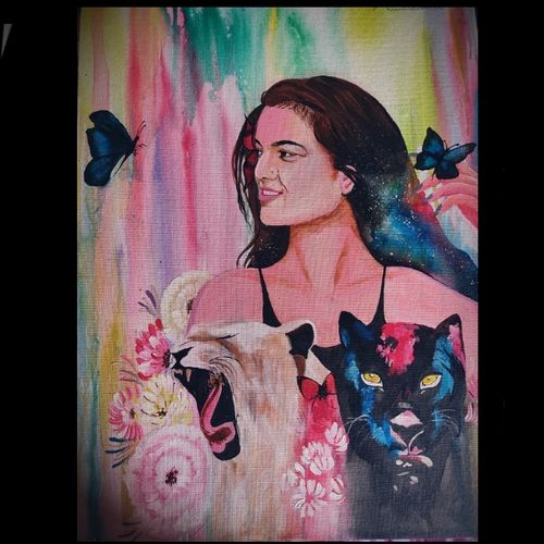 dream, 18 x 24 inch, shruti bokade,18x24inch,canvas,paintings,abstract paintings,flower paintings,landscape paintings,portrait paintings,illustration paintings,portraiture,animal paintings,paintings for dining room,paintings for living room,paintings for bedroom,paintings for office,paintings for hotel,acrylic color,GAL03221545049