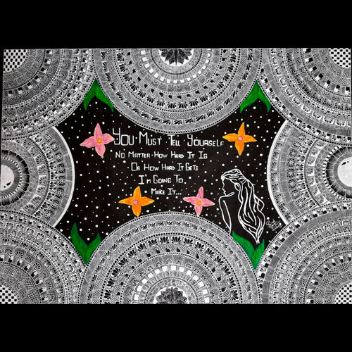 inspirational mandala art, 30 x 22 inch, ishita singh,30x22inch,thick paper,drawings,art deco drawings,paintings for dining room,paintings for living room,paintings for bedroom,paintings for office,paintings for bathroom,paintings for kids room,paintings for hotel,paintings for kitchen,paintings for school,paintings for hospital,acrylic color,pen color,paper,GAL03223245267
