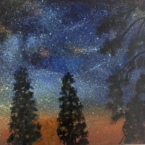 dark forest , 16 x 12 inch, prisha b,16x12inch,canvas,paintings,abstract paintings,cityscape paintings,landscape paintings,nature paintings   scenery paintings,realistic paintings,paintings for dining room,paintings for living room,paintings for bedroom,paintings for office,paintings for bathroom,paintings for kids room,paintings for hotel,paintings for kitchen,paintings for school,paintings for hospital,acrylic color,GAL03255645285
