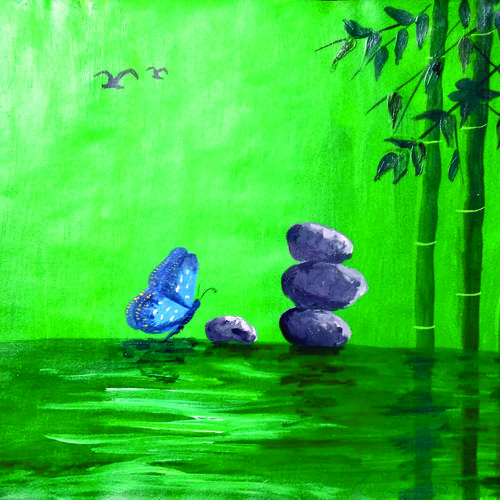 nature beauty, 10 x 13 inch, surendra sinha,10x13inch,hardboard,paintings,abstract paintings,nature paintings   scenery paintings,paintings for dining room,paintings for living room,paintings for bedroom,paintings for office,paintings for hotel,paintings for school,paintings for hospital,paintings for dining room,paintings for living room,paintings for bedroom,paintings for office,paintings for hotel,paintings for school,paintings for hospital,fabric,GAL03257945305