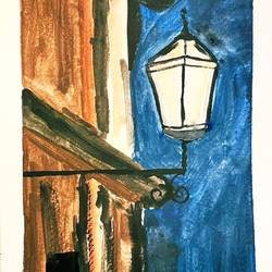 light of life, 6 x 8 inch, anshuman anshuman,6x8inch,paper,paintings,conceptual paintings,watercolor,GAL03273945454