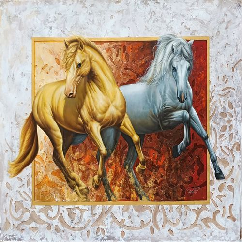 The royal horse painting