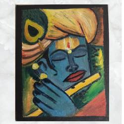 wall painting, 8 x 10 inch, priyanka sharda,8x10inch,canvas,religious paintings,paintings for dining room,paintings for dining room,oil color,GAL03276245494